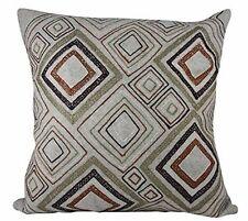 One Duck Two Irish Cream cushion cover 45x45 textured geometric wool blend