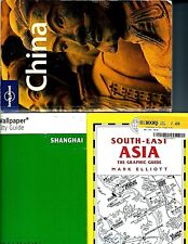 3 Asia Travel Books! South-East Asia, Lonely Planet China & Wallpaper Shanghai