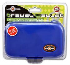 Custodia per DSi/DSLite/3DS Travel Wallet Max Pro Dark Blue NUOVA