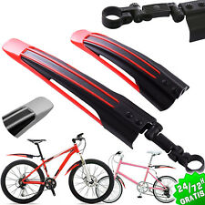 GUARDABARROS PARA BICICLETA DELANTERO Y TRASERO GUARDA BARROS SET BICYCLE FENDER