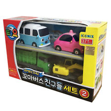 The Little Bus TAYO Friends Special Ver.2 Mini car 4 pcs BongBong Heart Max Poco