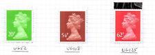 SG Y1783 54p, 62p Y1786 Machin DX48 Album Covers Prestige Booklet 2010
