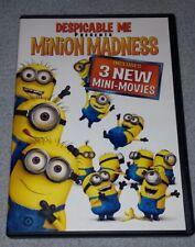 Despicable Me Presents: Minion Madness, 3 Mini Movies DVD