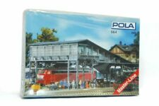 NEW POLA 564 HO BAHNSTEIGBRÜKE FOOT BRIDGE GLÜCKSTADT MASTERLINE UNASSEMBLED KIT