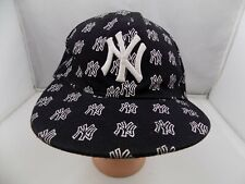 NEW YORK YANKEES FITTED SIZE 7 1/4 BASEBALL HAT CAP PRE-OWNED ST21