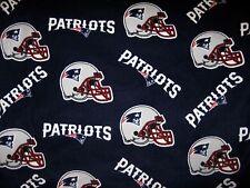 NFL NEW ENGLAND PATRIOTS PRINTED FLEECE BODY PILLOW CASE/BLUE FLEECE BACK 19X52