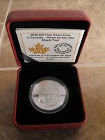 Canada 2014 $10 Fine Silver Coin Down By The Old Maple Tree (O'Canada Series)
