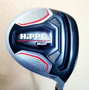 Hippo H120 15 or 20 degree reg fairway wood tour grip 2021 MODEL + headcover