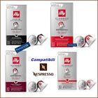 100 ILLY Espresso Coffee Compatible Capsules With nespresso Machin Pods
