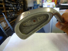 Ping Eye2+ Brown Dot #5 Iron Original Steel Stiff Flex