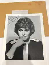 Anne Murray Hand Signed Photo W/Orig. Mailing Envelope..Over 55 Millions Records