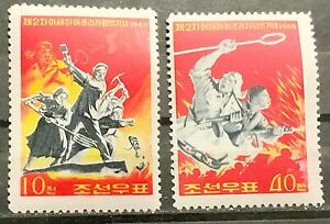 Korea 1965 Scott 587–588 MNH**