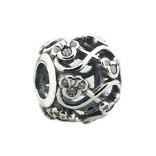 Beads Hunter Jewelry .925 Sterling Charm DISNEY, MINNIE & MICKEY INFINITY