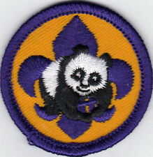 """Cub Scout Conservation Award Patch, """"Since 1910"""" Backing, Mint!"""