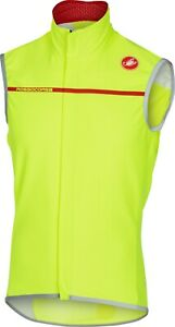 Castelli Perfetto Men's Cycling Vest Bright Yellow : Large