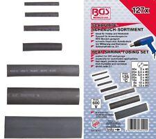 BGS Schrumpfschlauch Sortiment 7 versch. Größen 127-tlg im Sortimentskasten