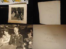 Orig. Foto Luftwaffe Major 2.WK 3.Reich WWII Abzeichen Spange Uniform Orden EK1