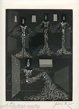 PEVERELLI CESARE GRAVURE 1976 SIGNÉE AU CRAYON ANNOTÉE EA HANDSIGNED EA ETCHING