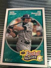New listing 2008 UD Baseball Heroes Ichiro Suzuki Short Print 87/99 Mariners