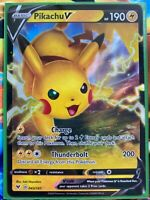 Pokemon Card   PIKACHU V   Ultra Rare  043/185  VIVID VOLTAGE  *MINT* 43/185