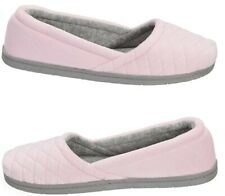 Dearfoams Quilted Microfiber Velour Slippers X LARGE