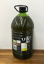 Certified Organic Extra Virgin Olive Oil 5 Litre Spanish Cold Extracted