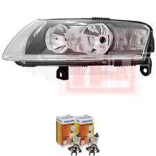 Scheinwerfer links für Audi A6(4F2) Bj. 11/04-09/08 H7+H7 inkl. PHILIPS Lampen