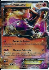 CARTE POKEMON ULTRA RARE DEMOLOSSE EX 170 PV XY IMPULSION TURBO 21/162 NEUVE