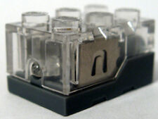 LEGO Part Electric, Light Brick 2x3 x 1 1/3 - Trans-Clear Top & Yellow LED Light