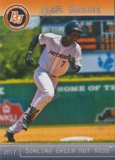 2017 Bowling Green Hot Rods Jesus Sanchez RC Rookie Tampa Bay Rays