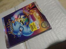 Aladdin (Blu-ray, DVD,digital )Animated Disney Signature Collection New