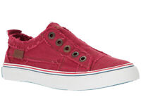 Blowfish Women's Play Jester Red Color Washed Cozume Canvas fashion-sneakers