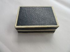 "Vintage Thai Gem Factory Jewelry Box 3"" x 2"" x 1"""