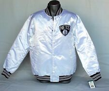 Starter Brooklyn Nets White Christmas 2013 Limited Edition Satin Jacket Size L