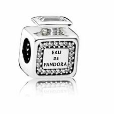 Authentic PANDORA Charm Silver 791889CZ Signature Scent Perfume Bottle A19
