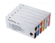 7 x Tinten für Epson Stylus Pro 9600 7600 4000 - 220ml PIGMENT Cartridges