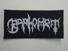 BAPHOMET DEATH METAL WOVEN PATCH