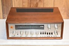 Vintage Pioneer SX-1000TW receiver with wood cabinet and Manual