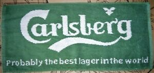 Carlsberg Lager - BAR Towel - New