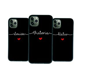 Personalised Name For Samsung GALAXY S20 S21 A12 A21S A41 Case Phone Cover