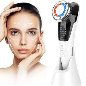 Kosmetisches Ultraschallgerät Faltenentferner Gesichtsmassage Mit ION-Und Photon
