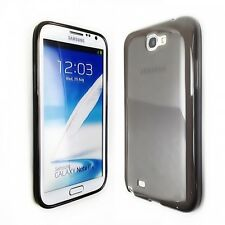 Top Grade Grey TPU+PC Case Cover For Samsung Galaxy Note II 2 N7100 plus 1X SP