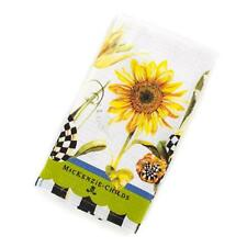 MacKenzie-Childs Sunflower Dish Towel **NEW & AUTHENTIC** #70113-057