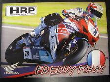 HRP Honda Racing Team IDM SBK 2013 #78 Freddy Foray (F)