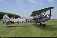 Auster 5 Private Airplane Wood Model Big