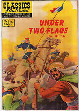 Under Two Flags Classics Illustrated #86 Hrn 87 Ouida Fine Gilberton