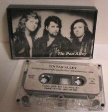 TIN PAN ALLEY 1986 DEMO CANADIAN BAND AOR MELODIC ROCK RARE TAPE THREE TRACKS