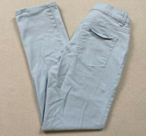 Gloria Vanderbilt Amanda Straight Leg Baby Blue Stretch Jeans Women's Size 8