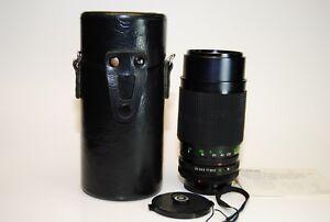 Vivitar 75-205mm F3.5-4.5 MC Macro Focusing Zoom Lens for Canon Fd Mount