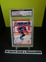1990 Mark Messier PSA Certified Autograph Oilers 🏒 Rangers 🏒 Canucks 🔥 HOF 🔥
